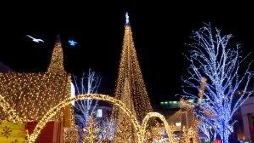 Holiday of Lights Festival in Milwaukee