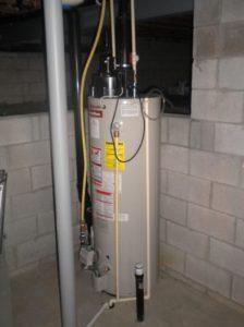 water heater that needs repair